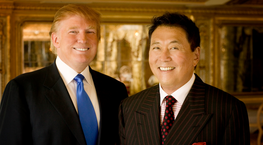 Robert Kiyosaki và Donald Trump