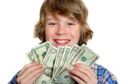 Rèn thái độ của con trẻ đối với tiền