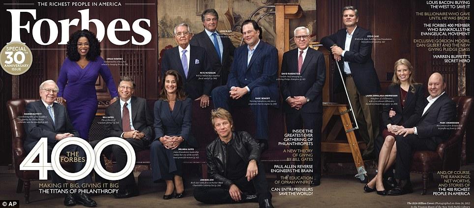 [INFOGRAPHIC] Tỉ phú, các con số và sự kiện – Thống kê từ tạp chí Forbes 2014