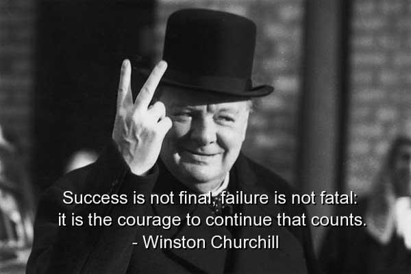 Bí quyết thành công của Winston Churchill
