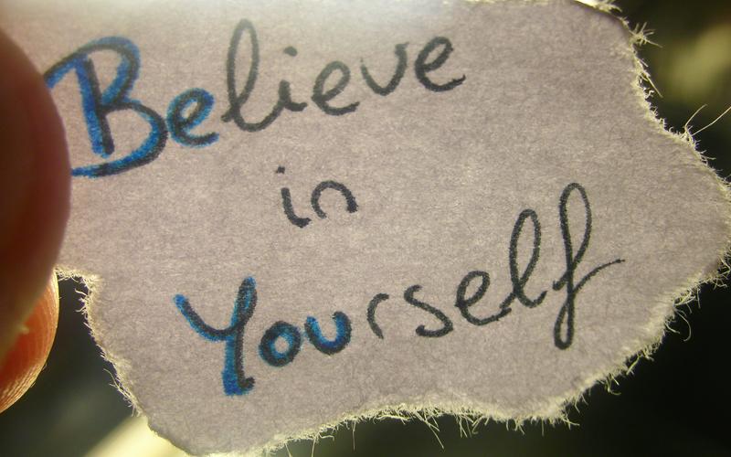 tư duy kinh doanh - tin tưởng vào chính bản thân mình