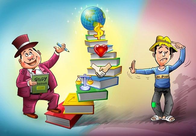 11 khác biệt trong tư duy giữa người giàu và người nghèo