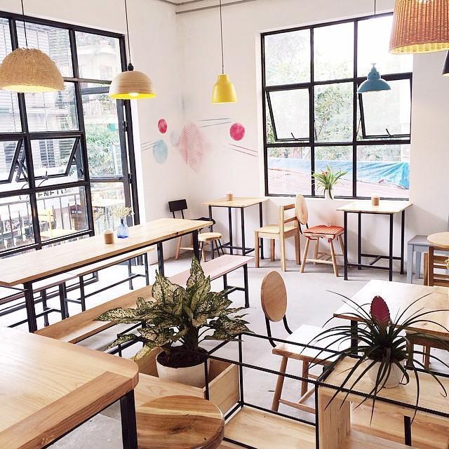 khởi tạo quán cafe