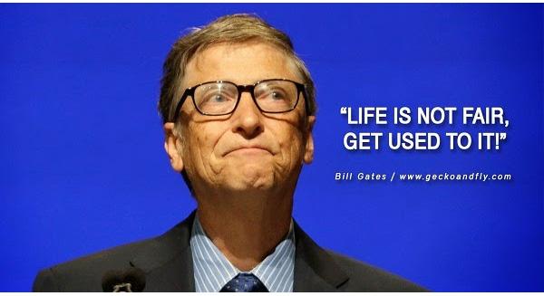 Lời Khuyên Của Bill Gates Dành Cho Giới Trẻ: Cuộc Sống Không Phải Lúc Nào Cũng Công Bằng, Bạn Phải Thích Nghi Với Điều Đó