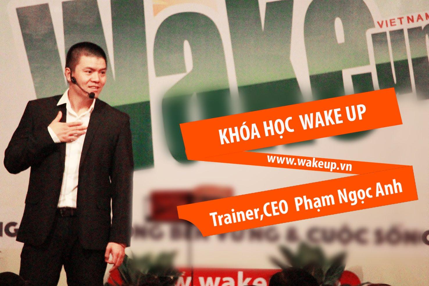 Trải Nghiệm Miễn Phí Khóa Học Wake Up Tại Hà Nội!