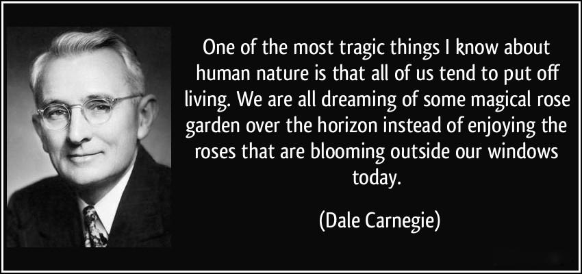 Bí quyết vượt qua nỗi sợ hãi của ông vua huấn luyện Dale Carnegie.