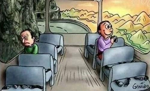 Sự khác biệt giữa người tích cực và tiêu cực