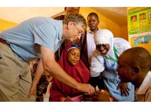 Bill Gates chỉ di chúc lại 0.05% tài sản cho con cái, còn lại ông làm từ thiện