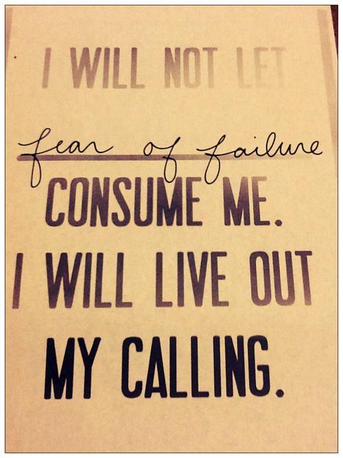 Bạn có sợ thất bại?