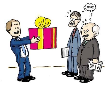 5 bước gây ấn tượng với khách hàng bằng quà tặng