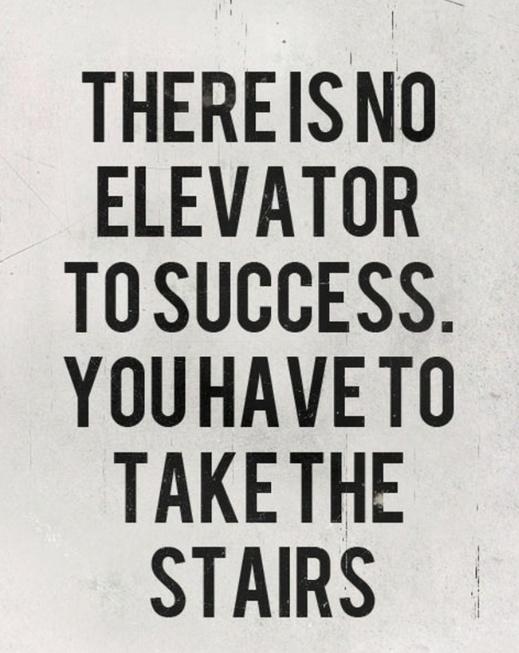 Không có đường tắt tới thành công
