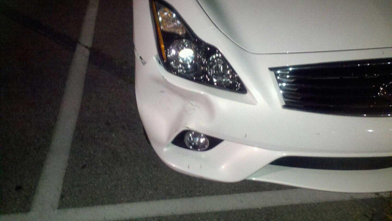 Câu chuyện về chiếc mũi xe bẹp