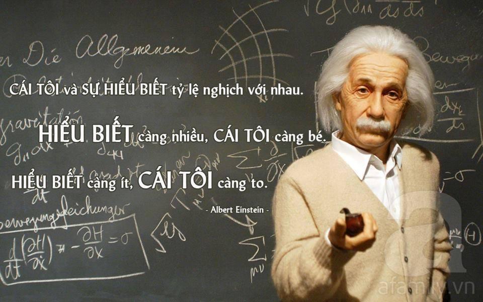 10 bài học từ Albert Einstein