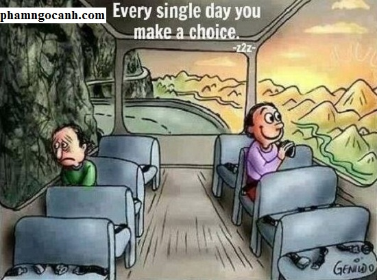Bài học thành công: Lựa chọn cuộc sống mỗi ngày