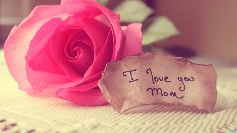 """""""Con yêu mẹ!"""""""