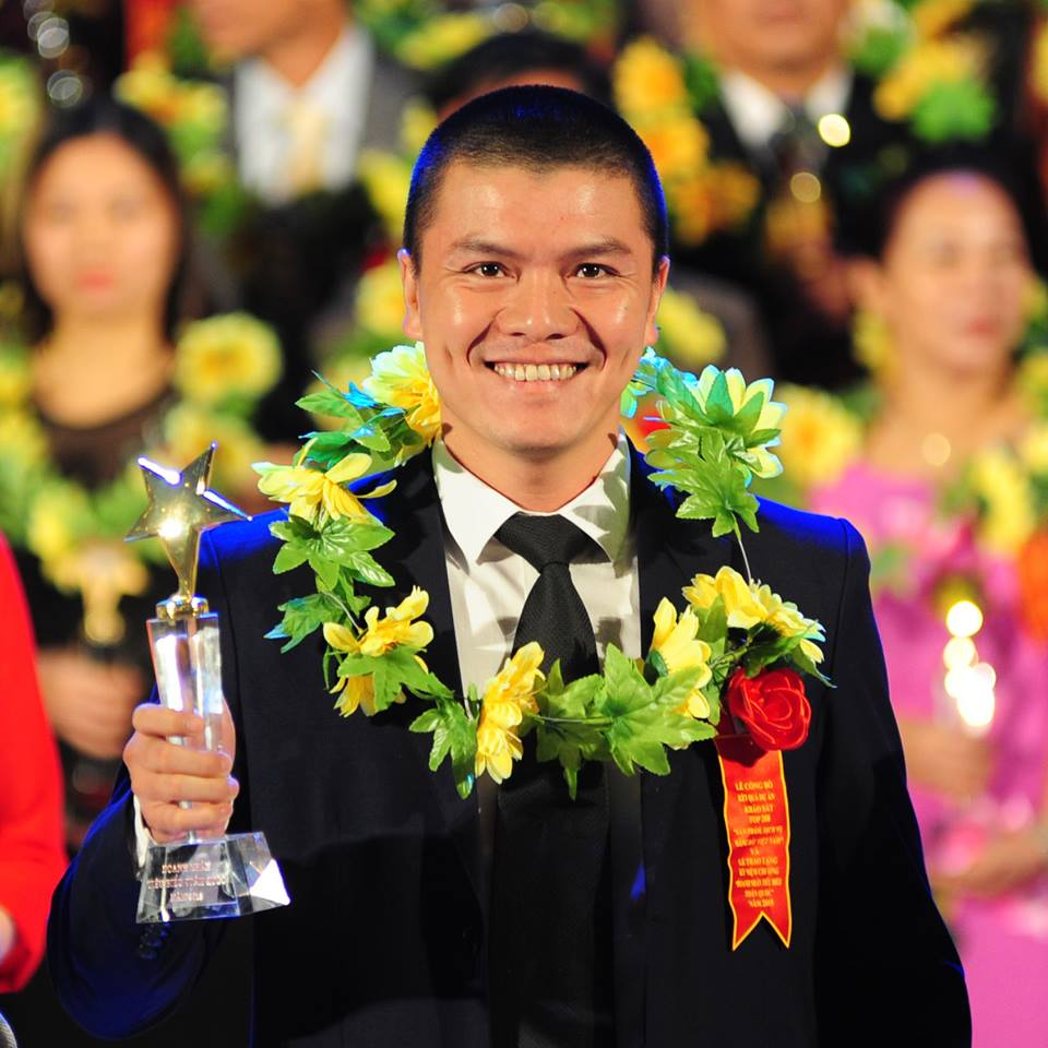 Phạm Ngọc Anh - Doanh nhân tiêu biểu toàn quốc 2015
