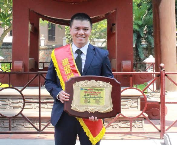 Phạm Ngọc Anh - Trí thức trẻ tiêu biểu vì sự nghiệp phát triển thủ đô