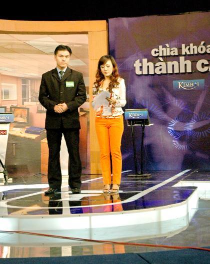 Phạm Ngọc Anh tại Trung kết chìa khóa thành công 2007