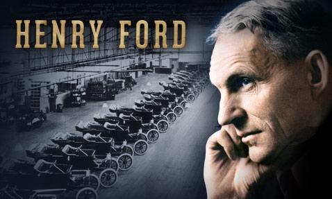 5 triết lý kinh doanh của ông vua xe hơi Henry Ford