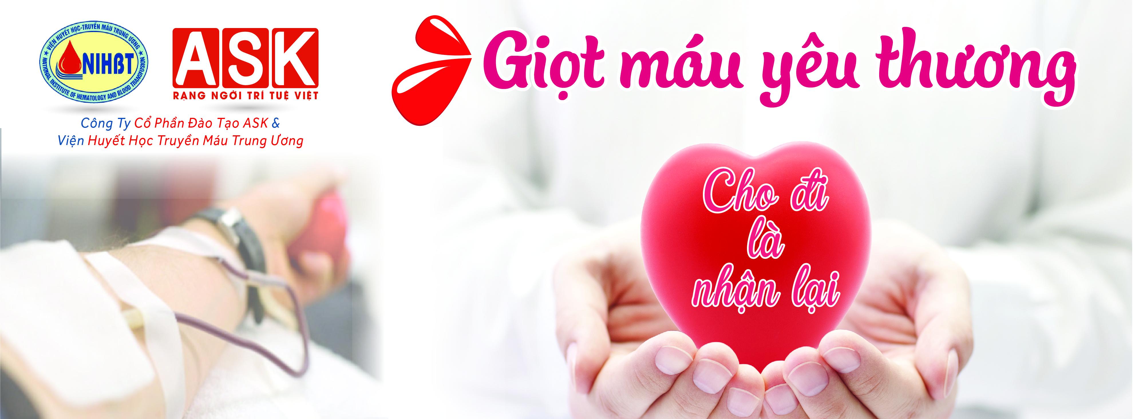Cùng Ngọc Anh chia sẻ yêu thương – máu cứu người ở ngay trong mỗi trái tim chúng ta