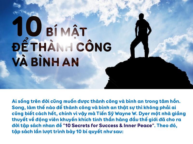 10 BÍ MẬT ĐỂ THÀNH CÔNG VÀ BÌNH AN
