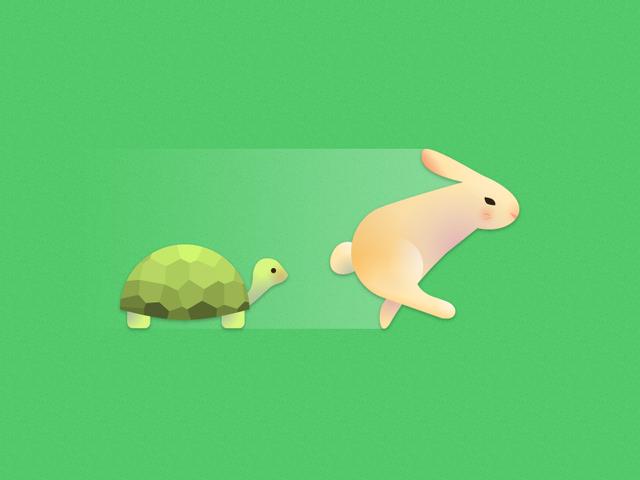 """""""Rùa và thỏ"""" trong môi trường công sở: Rùa sống vội để thành công, thỏ sống chậm để tận hưởng, bạn là ai?"""