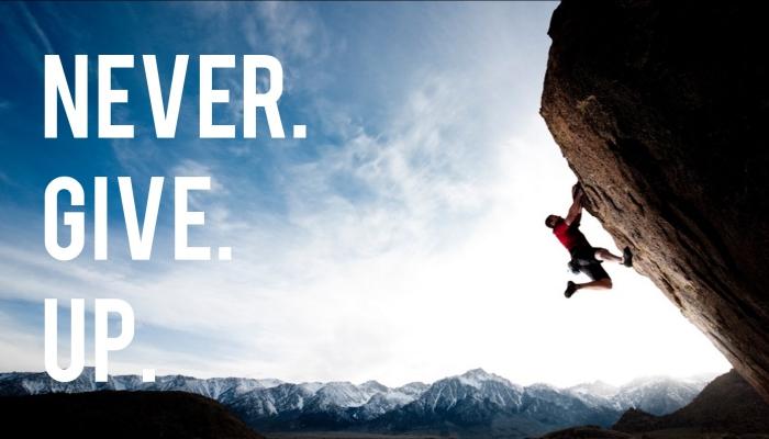 Rèn luyện tinh thần không bỏ cuộc khi gặp khó khăn